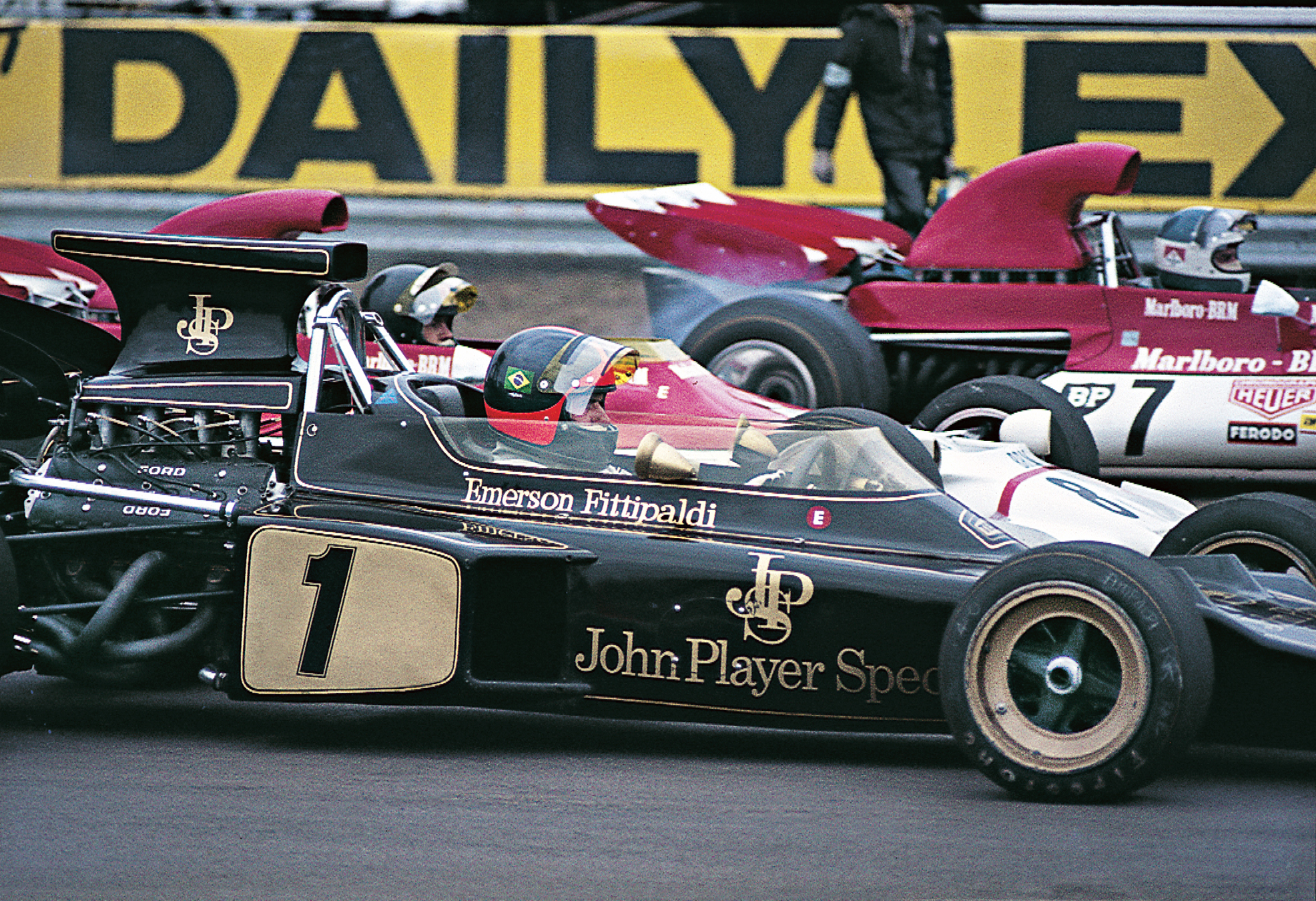 Fittipaldi Grand Prix winning F1 Lotus restored