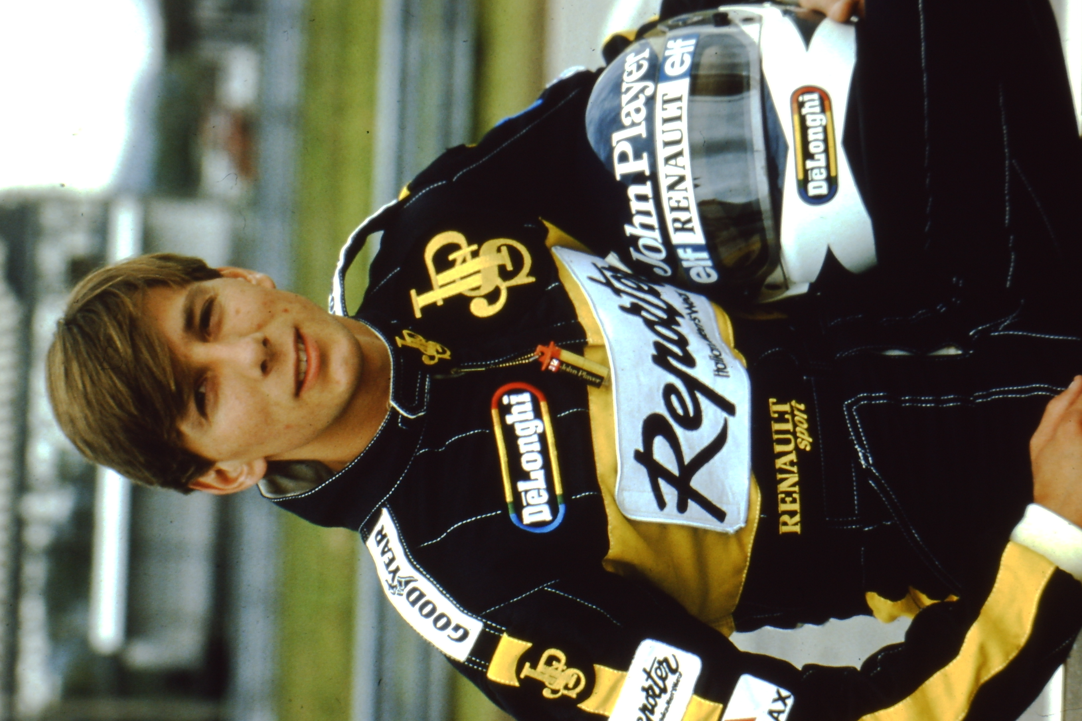 Johnny Dumfries Team Lotus F1 Driver