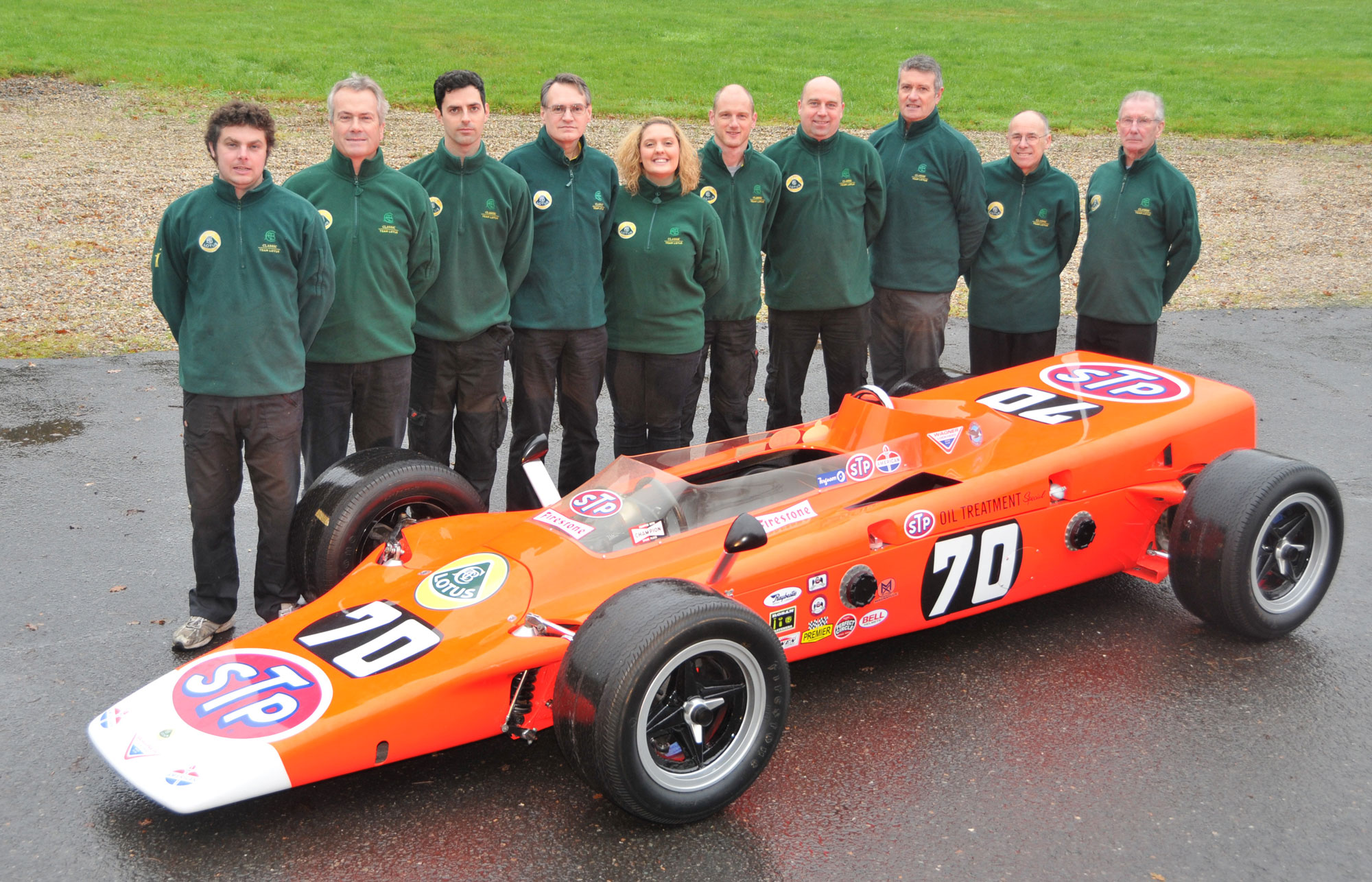 Look what Classic Team Lotus got for Christmas!
