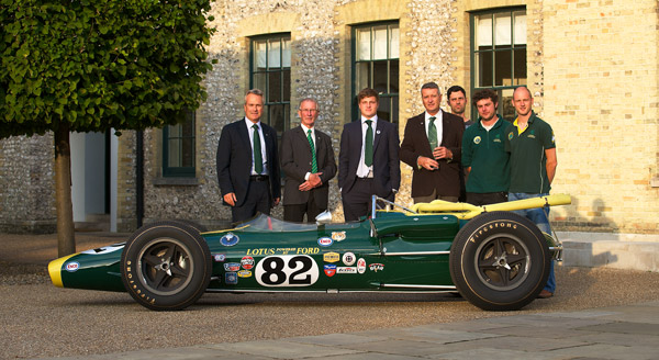 Fellowship of Lotus ford 38/1 - Classic Team Lotus