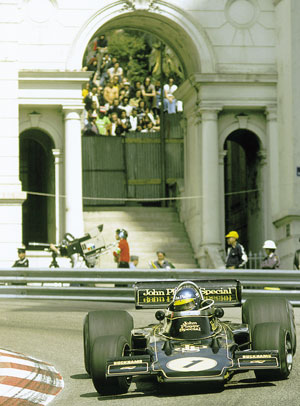 Ronnie Peterson Monaco 1974