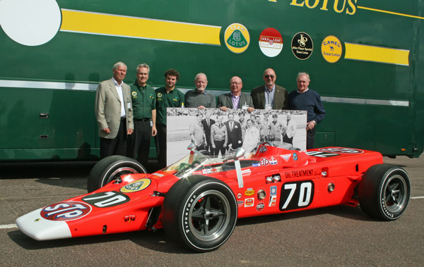 Team Lotus 56/3 reunion
