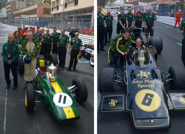 Three Wins for the team at Monaco!