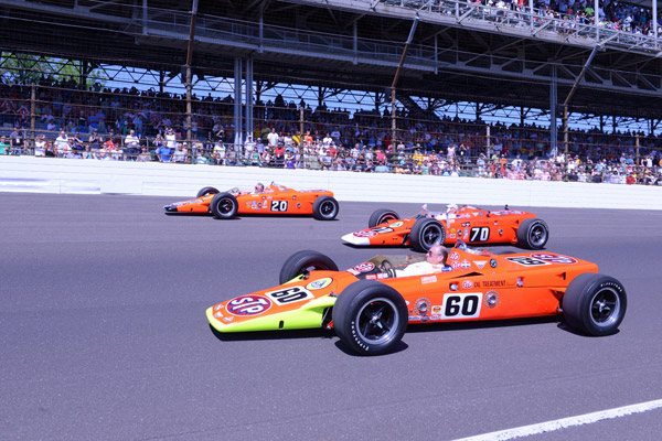 Lotus stars at Indy 500