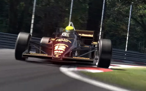 Team Lotus features in Gran Turismo 6