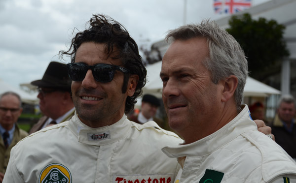 Dario Franchitti receives an MBE