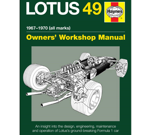 Lotus 49 Haynes Manual
