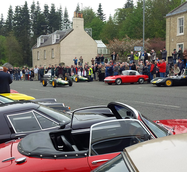Stunning line up at Jim Clark Weekend