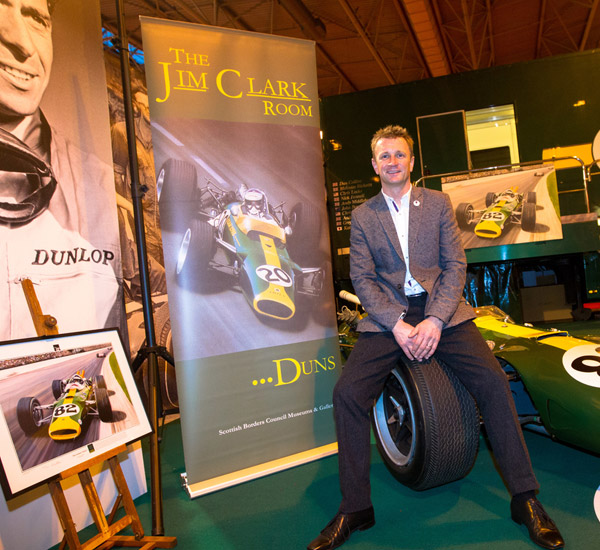Jim Clark Weekend gets revved up
