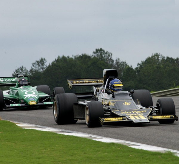 Podium finish for Beaumont at Barber Historics