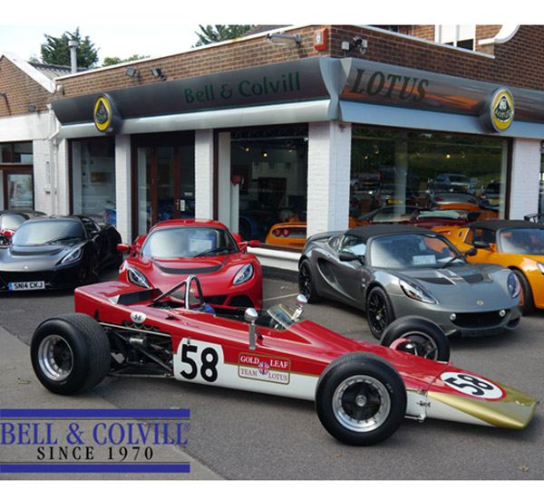 Lotus Dealer Celebrates 45 Years