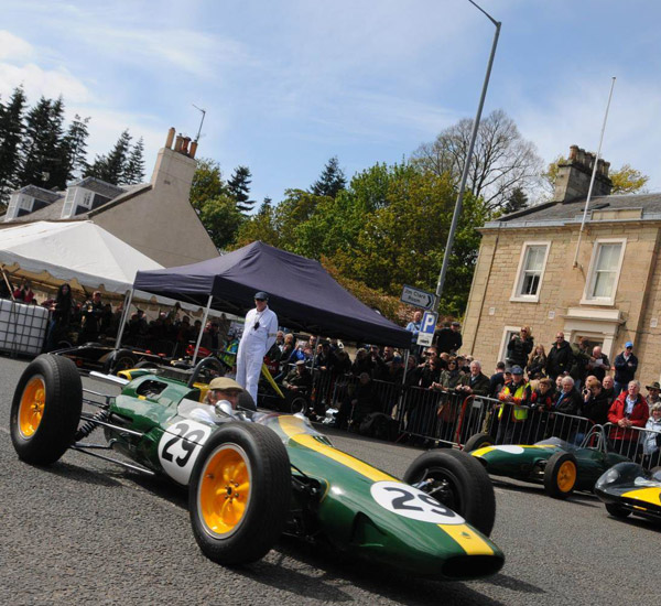 Sir Jackie Stewart Welcomes Funding