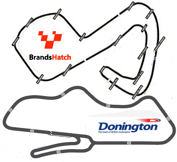 Brands Hatch Vs Donington Park