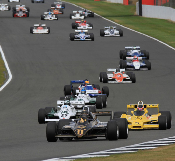 Exciting Battle at Silverstone