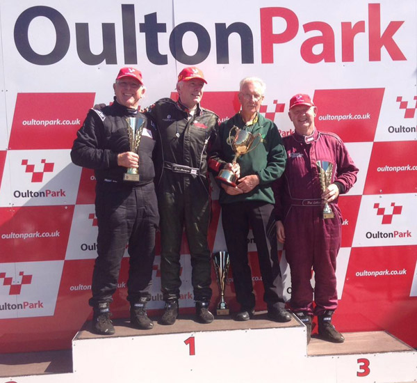 Podium for Collins at Oulton Park