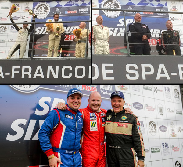 Podiums Galore at Spa!