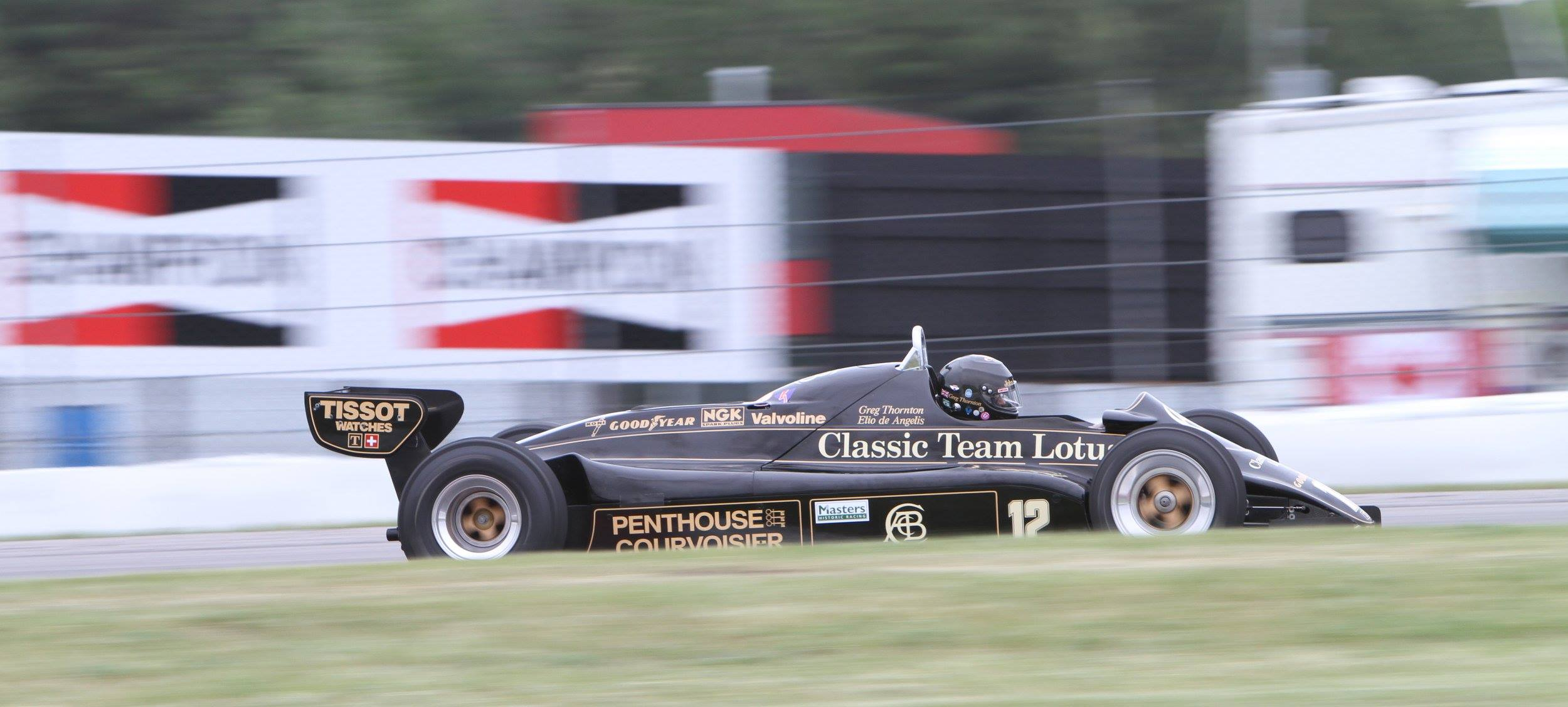 Classic Team Lotus Canada clean sweep