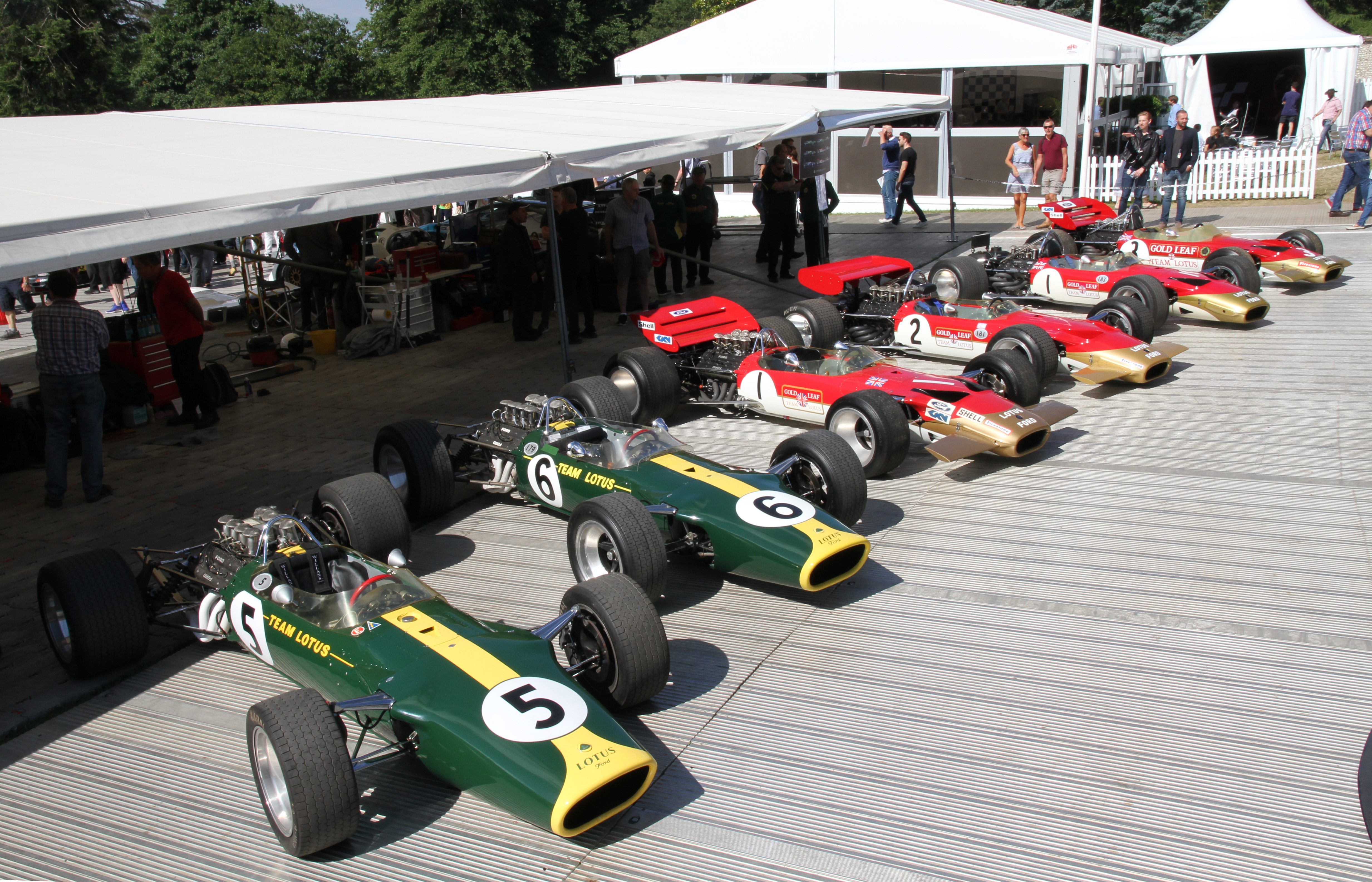 Classic Team Lotus at Goodwood Festival of Speed 2017