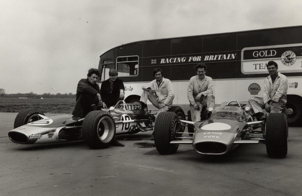 Eddie Dennis - Classic Team Lotus