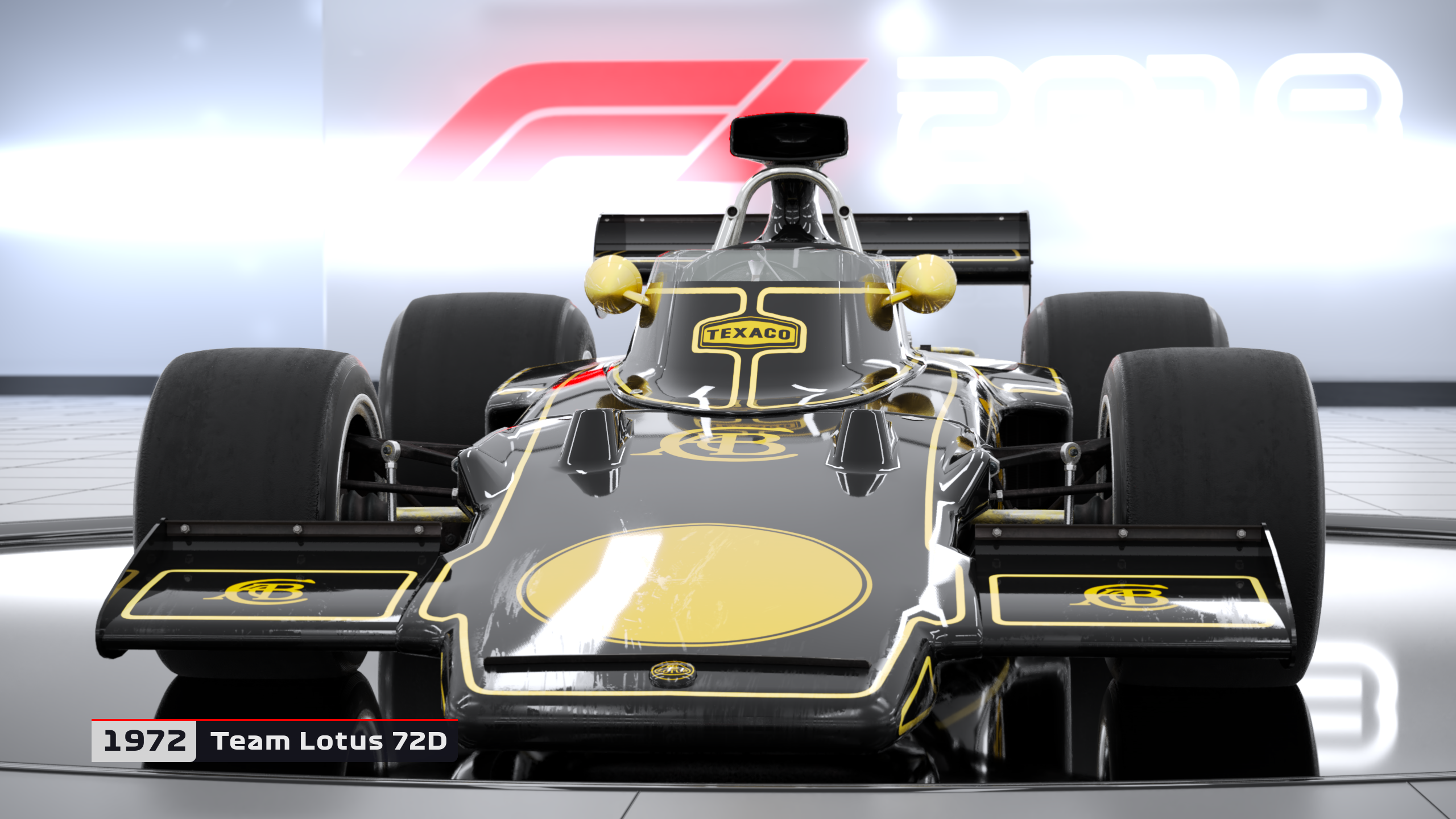 f1 2018 classic cars revealed to include lotus 72 and 79. Black Bedroom Furniture Sets. Home Design Ideas