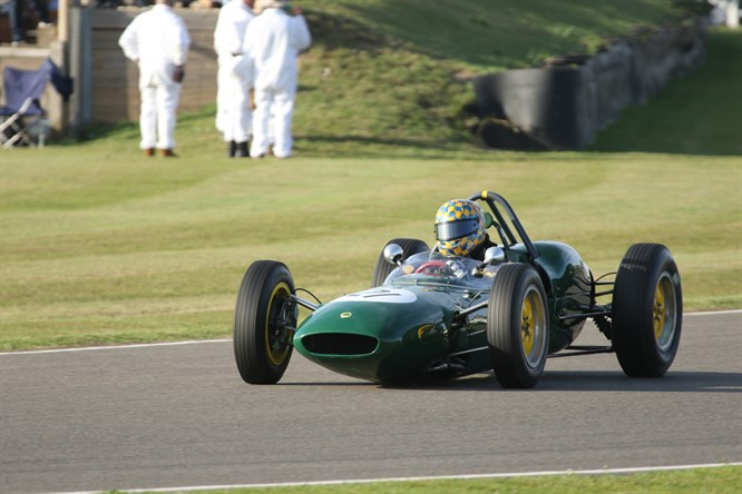Classic Team Lotus at the Goodwood Revival 2