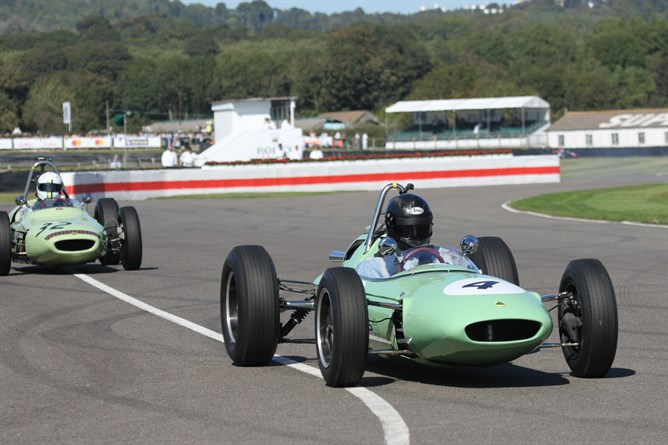 Classic Team Lotus at the Goodwood Revival 3