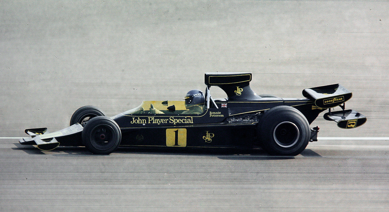 1974 Peterson Lotus F1